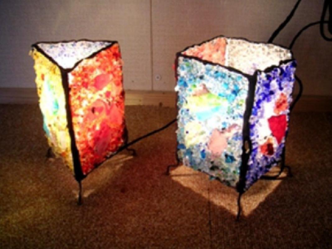 琉球ガラス細工体験 アクセサリーやランプシェードなど、オリジナル作品を作ろう!<久米島>