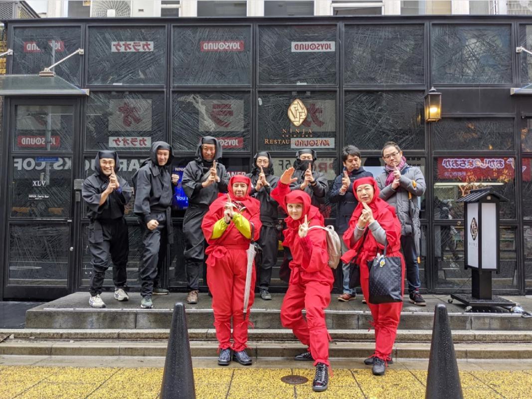 東京 忍者ウォーク 都内で忍びの者ゆかりの地を巡るツアー<昼食付きプランあり/浅草>